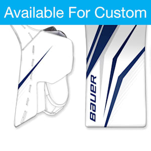 Bauer Digi-Print Custom Supreme Ultrasonic Goalie Blocker - Senior