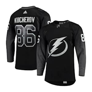 Adidas Tampa Bay Lightning Nikita Kucherov Authentic Alternate Jersey - Adult