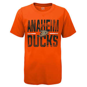 Adidas Hustle Ultra Tee - Anaheim Ducks - Youth