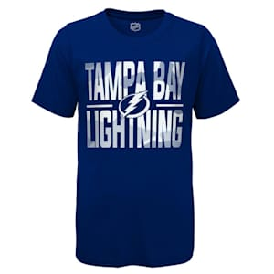 Adidas Hustle Ultra Tee - Tampa Bay Lightning - Youth