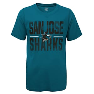 Adidas Hustle Ultra Tee - San Jose Sharks - Youth