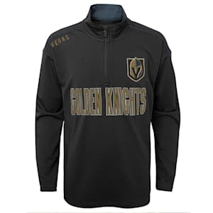 Adidas Attacking Zone 1/4 Zip Performance Top - Vegas Golden Knights - Youth