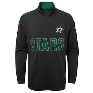 Adidas Attacking Zone 1/4 Zip Performance Top - Dallas Stars - Youth