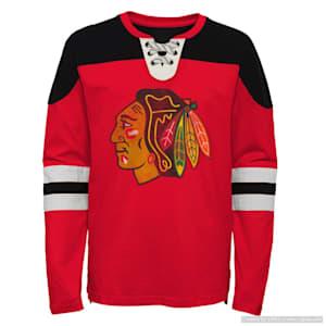 Adidas Goaltender LS Top - Chicago Blackhawks - Youth