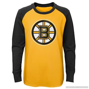 Adidas Undisputed Long Sleeve Crew Tee - Boston Bruins - Youth