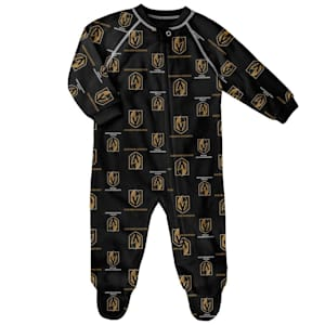 Outerstuff Raglan Zip Up Coverall - Vegas Golden Knights - Infant