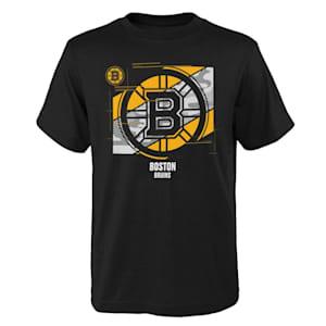 Adidas Crossfit Tech Short Sleeve Tee Shirt - Boston Bruins - Youth