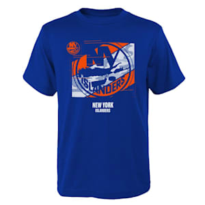 Adidas Crossfit Tech Short Sleeve Tee Shirt - New York Islanders - Youth