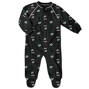 Outerstuff Raglan Zip Up Coverall - Dallas Stars - Newborn