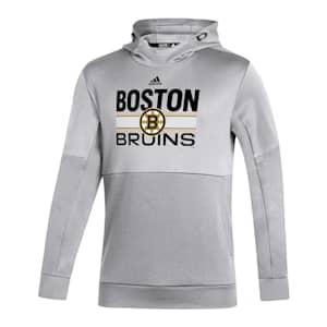Adidas Hockey Grind Pullover Hoodie - Boston Bruins - Adult