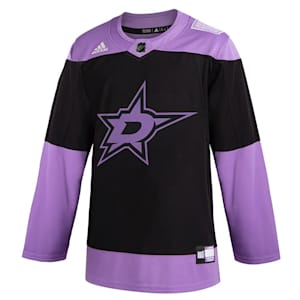 Adidas Hockey Fight Cancer Authentic Practice Jersey - Dallas Stars - Adult