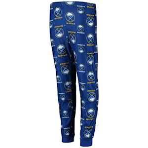 Adidas Printed Pajama Pants - Buffalo Sabres - Youth