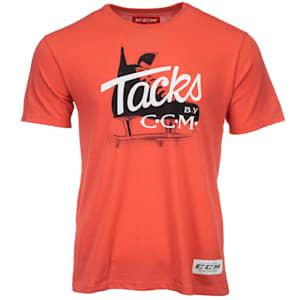 CCM Classic Tacks Short Sleeve Tee Shirt - Adult