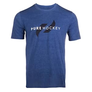 Pure Hockey Classic Tee 2.0 - Royal - Adult