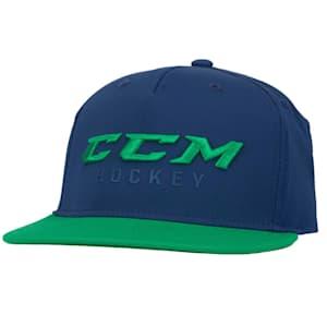CCM Hockey Pop Flatbrim Adjustable Cap