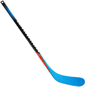 Warrior Covert QRE 10 Mini Hockey Stick - Black/Blue