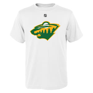 Adidas Minnesota Wild Reverse Retro Short Sleeve Tee - Youth