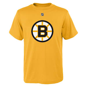 Adidas Boston Bruins Reverse Retro Short Sleeve Tee - Youth