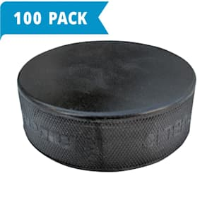 Black Markless Puck - 100-Pack