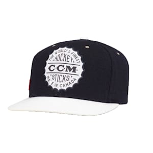 CCM Heritage Bottle Cap Flat Brim Snapback Cap - Adult
