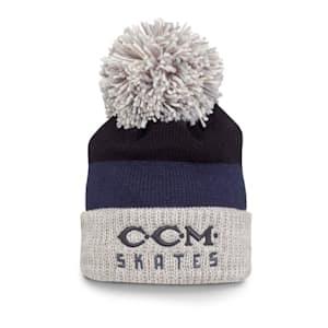 CCM Vintage Skates Pom Knit Hat - Adult