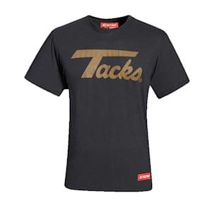 CCM Nostalgia Tacks Logo Short Sleeve Tee Shirt - Adult