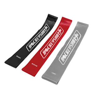 HockeyShot HS Mini Resistance Bands - 3 Pack