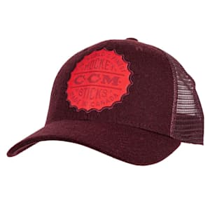 CCM Bottle Cap Mesh Back Trucker Cap - Adult