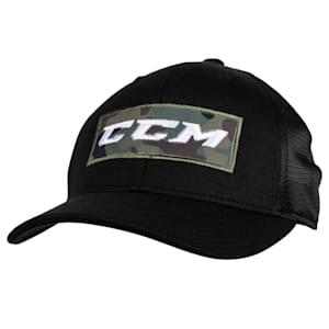 CCM Grit Camo Meshback Cap - Adult