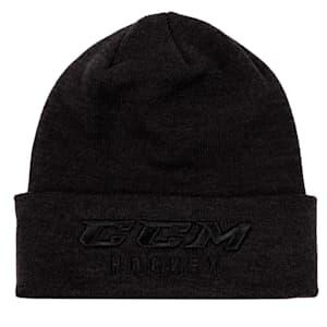 CCM Go Dark Cuffed Knit Beanie - Adult