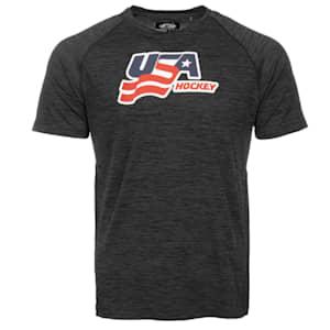 USA Hockey Performance Short Sleeve Tee - Adult