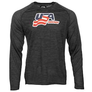 USA Hockey Performance Long Sleeve Tee - Adult