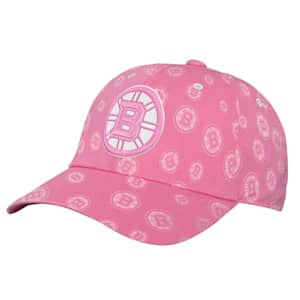 Outerstuff Pink Fashion Slouch Adjustable Hat - Boston Bruins - Youth