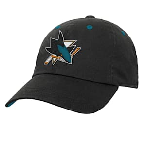 Outerstuff Team Slouch Adjustable Hat – San Jose Sharks - Youth