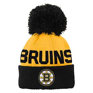 Adidas Jacquard Cuff Pom Knit – Boston Bruins - Youth