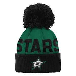 Outerstuff Jacquard Cuff Pom Knit – Dallas Stars - Youth