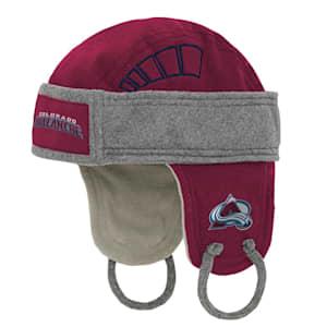 Adidas Kids Fleece Hockey Helmet – Colorado Avalanche - Youth