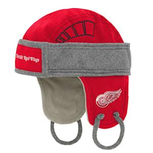 Adidas Kids Fleece Hockey Helmet – Detroit Red Wings - Youth