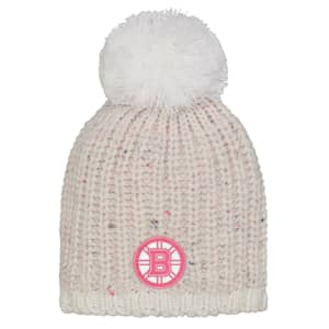 Outerstuff Pink Nep Yarn Beanie - Boston Bruins - Youth