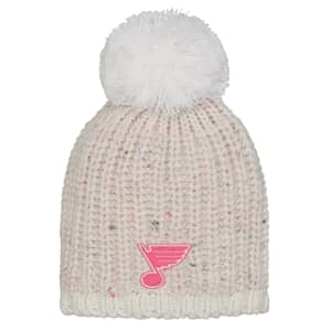 Outerstuff Pink Nep Yarn Beanie - St. Louis Blues - Youth