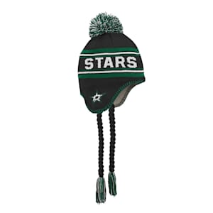 Adidas Jacquard Tassel Knit With Pom - Dallas Stars - Youth