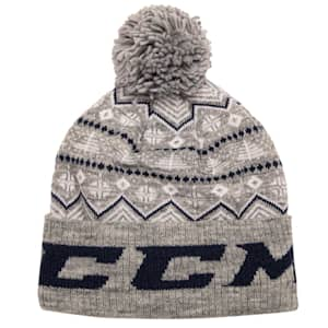 CCM Nordic Pom Knit Hat - Adult