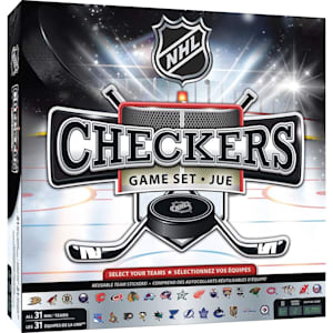 MasterPieces NHL League Checkers Game
