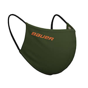 Bauer Reversible Fabric Face Mask - Green/Camo