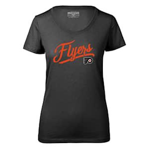 Levelwear First Edition Daily Short Sleeve Tee Shirt - Philadelphia Flyers - Womens