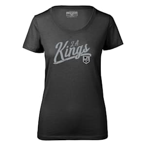 Levelwear First Edition Daily Short Sleeve Tee Shirt - Los Angeles Kings - Womens