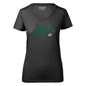 Levelwear First Edition Daily Short Sleeve Tee Shirt - Dallas Stars - Womens