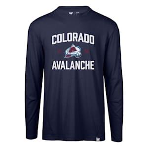 Levelwear Fundamental Thrive Long Sleeve Tee Shirt - Colorado Avalanche - Adult