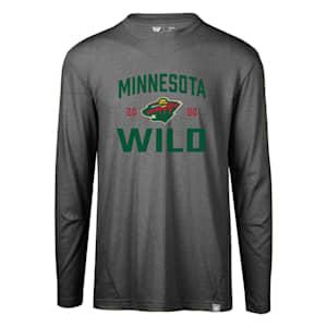 Levelwear Fundamental Thrive Long Sleeve Tee Shirt - Minnesota Wild - Adult