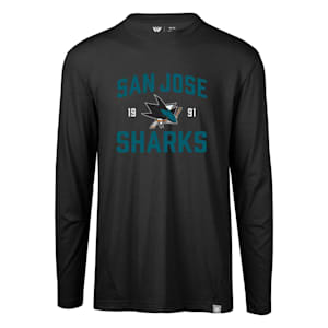 Levelwear Fundamental Thrive Long Sleeve Tee Shirt - San Jose Sharks - Adult